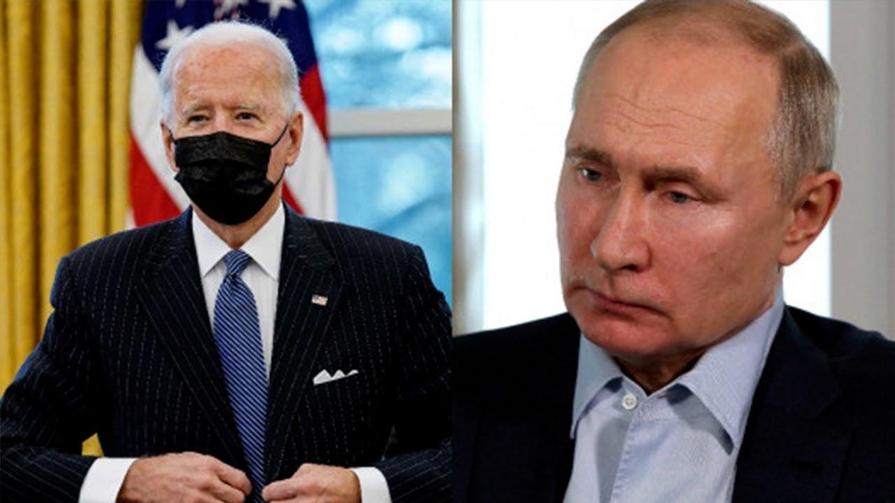 Путин и Байден провели первый телефонный разговор