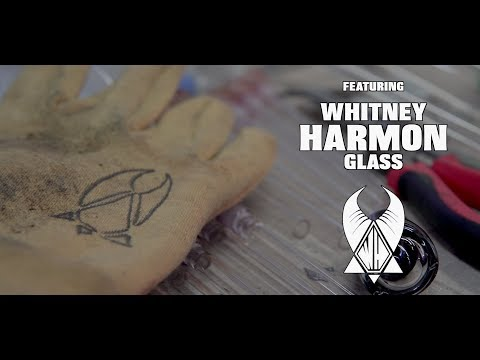 Whitney Harmon Glass Crushed Opal BEHIND THE SCENES