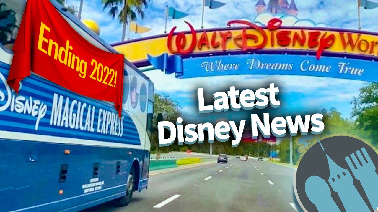 Latest Disney News: No More Magical Express, Disneyland Annual Passes Are Discontinued & MORE!