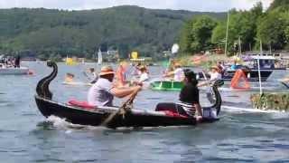 Badewannenrennen auf dem Edersee