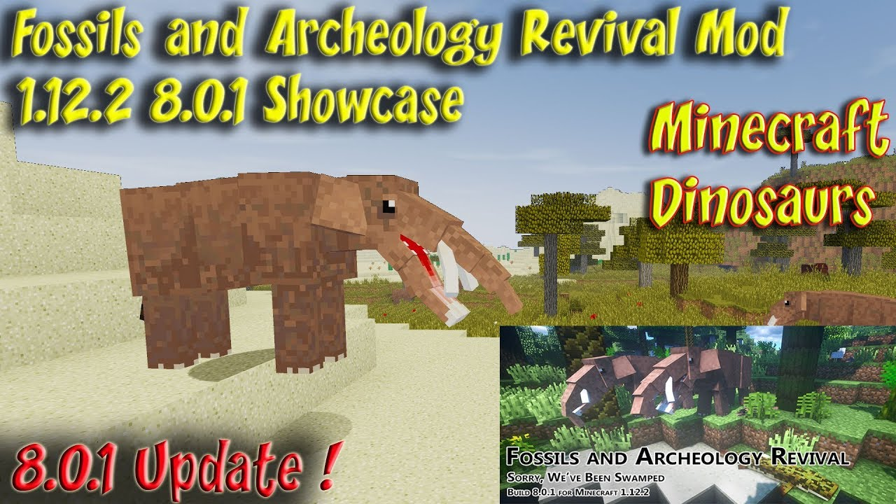 Fossils and Archeology Mod 1 12 2 v 8 0 1 Dinosaur & Animal Update
