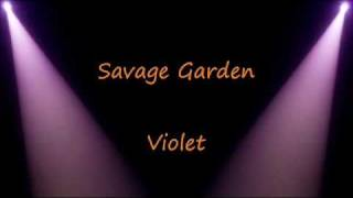 Watch Savage Garden Violet video