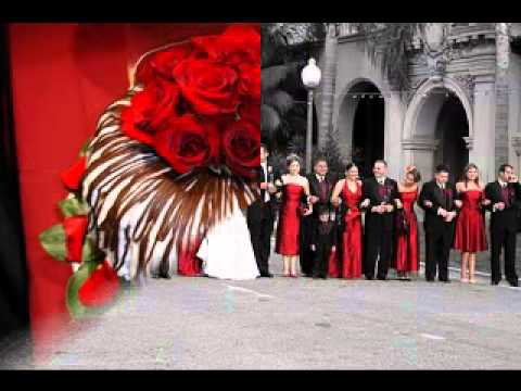 red wedding theme decorations