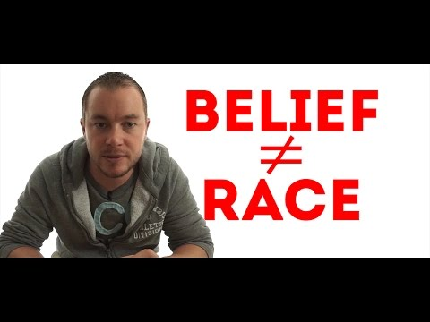 Belief Does Not Equal Race, You Bigots