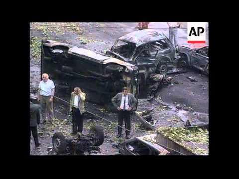 GEORGIA: TBILISI: GUNMEN OPEN FIRE ON PRESIDENT SHEVARDNADZE'S CAR