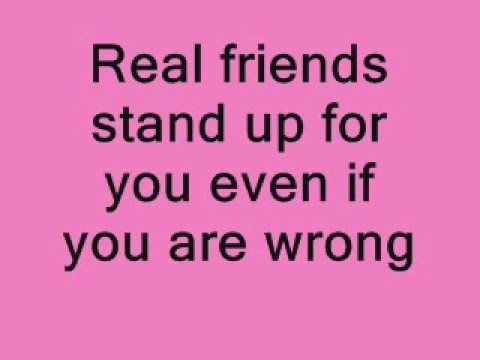 Real Friends And Fake Friends YouTube Adorable Quotes About True Friendship And Fake Friends