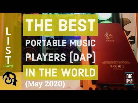 The best (DAP) portable music players in the world (May 2020)