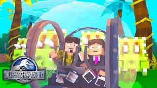Minecraft: ESFERA DE VIDRO E TRICERATOPS ! - JURASSIC WORLD  ‹ LOKI ›