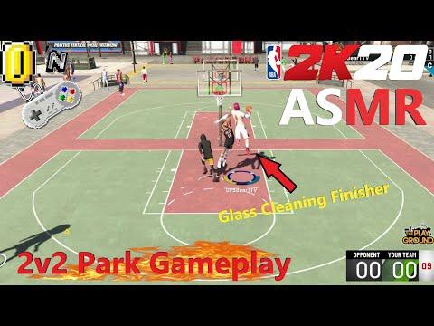 ASMR Gaming: NBA 2K20 Relaxing 2v2 Park Gameplay (Whispered)