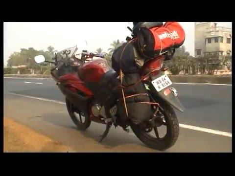 KOLKATA to BHUTAN,  solo motorcycle trip jan,2015 part 1/4