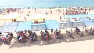 Благовещенская! Пляж! Море! Вид сверху! Красота!(Всем привет! На этом канале видео о том, как живет