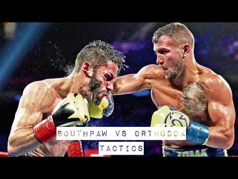 SOUTHPAW VS ORTHODOX TACTICS