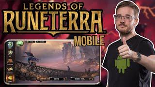 Legends of Runeterra na mobily v Česku?! Android verze 0.0.1.21