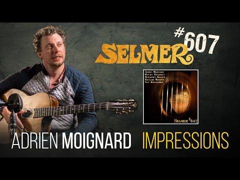 Adrien Moignard plays Impression on authentic Selmer guitar