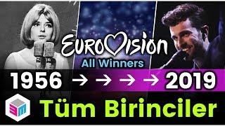 1956'dan 2019'a Tüm Eurovision Birincileri