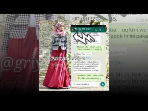Rok Panjang Terbaru Velvet Umbrella Skirt 081372507000