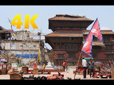 "#077 ""Kathmandu, Nepal"" in 4K (カトマンズ/ネパール)世界一周32カ国目"