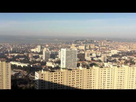 Splendide vue La Rouvière 13009 Marseille
