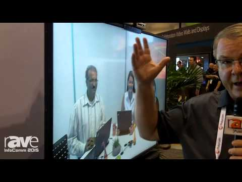 InfoComm 2015: Polycom Media Center Conferences with Colleagues in San Jose, California