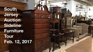 February 12, 2017 Sideline Furniture Tour - South Jersey Auction