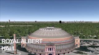 http://bit.ly/1aRAEpS - Royal Albert Hall - Google Earth