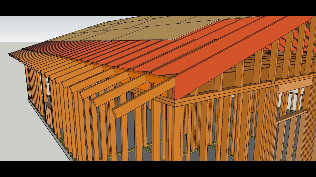 How To Extend or Add Gable Roof Overhang  Remodeling Tips ...