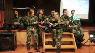 Jurbarko jaunieji šauliai -  Tėvyne dainų ir artojų