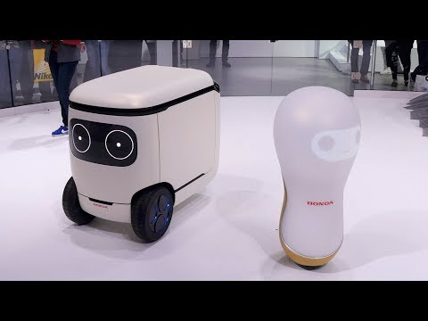 Honda Robots - CES 2018