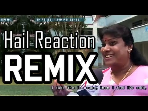 Singapore Woman Hail Reaction REMIX