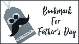 Bookmark for father's day | father's day special | bookmark |diy bookmark | Paper bookmark