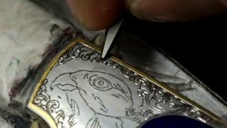Knife engraving demo