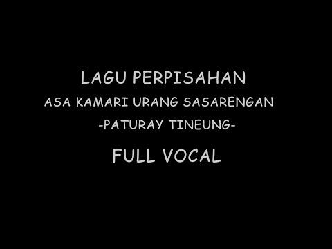 ASA KAMARI URANG SASARENGAN FULL VOCAL