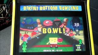SpongeBob Square Pants Bikini Bottom Bowling Arcade Game