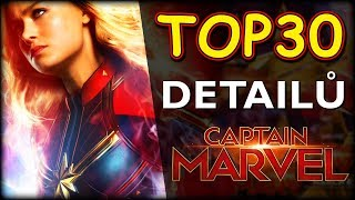 TOP 30 DETAILŮ Captain Marvel