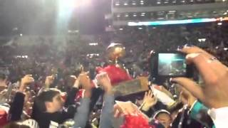 2012 Egg Bowl postgame