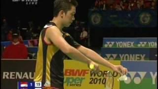 [9/9] Quart de finale SH : Peter Gade vs Taufik Hidayat (All England 2010)
