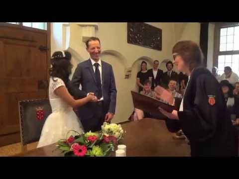 Sanne Wedding in Haarlem CityHall - Dutch & Thai sub