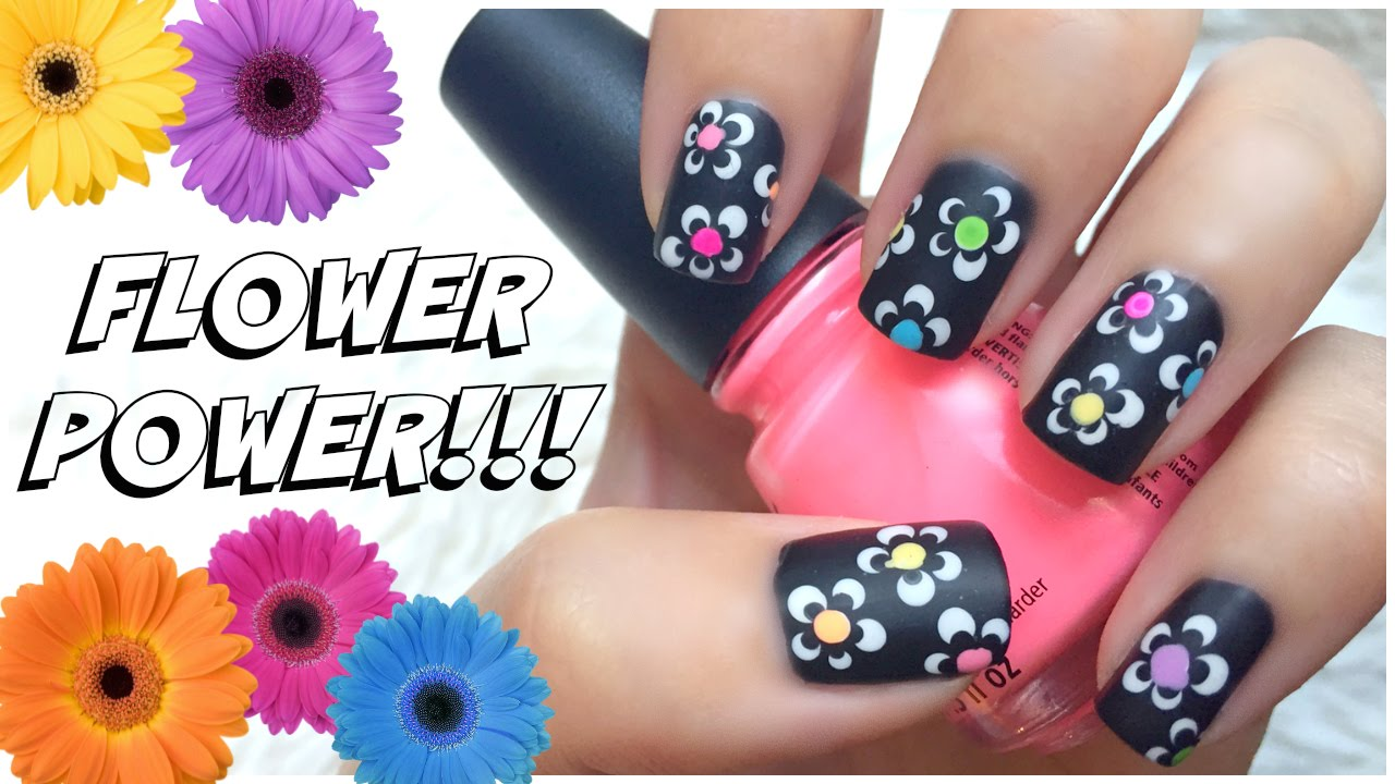 easy summer nail art design!!! | missjenfabulous - youtube