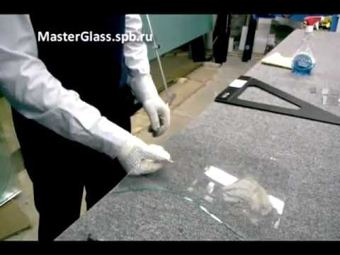Cмотреть видео онлайн 3 Способа резки стекла (Резка Стекла от Эдуарда)