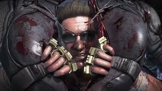 Mortal Kombat X - Johnny Cage VS Cassie Cage Gameplay