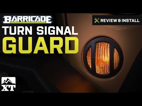 Jeep Wrangler Barricade Turn Signal Guard (2007-2017 JK) Review & Install