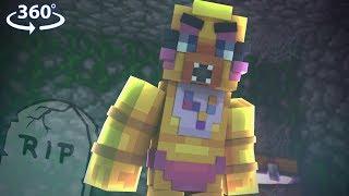 Five Nights At Freddy's BREAK IN! - CHICA'S RETURN! #4 - 360° VR  Minecraft Video
