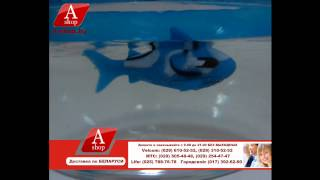 Nano Fish (Аквариум с рыбкой-роботом) A-shop.by(, 2014-03-21T10:40:09.000Z)