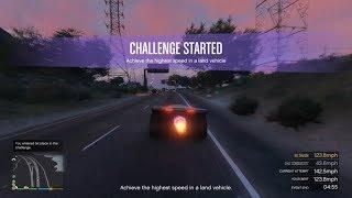 GTA Online Highest Speed Challenge (Vigilante)