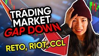 <b>Stock</b> Market Sell Off? $RETO $RIOT $CCL $<b>CCIV</b> trading recap ...