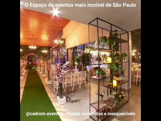 onde casar em São Paulo espaço com piscina em SP
