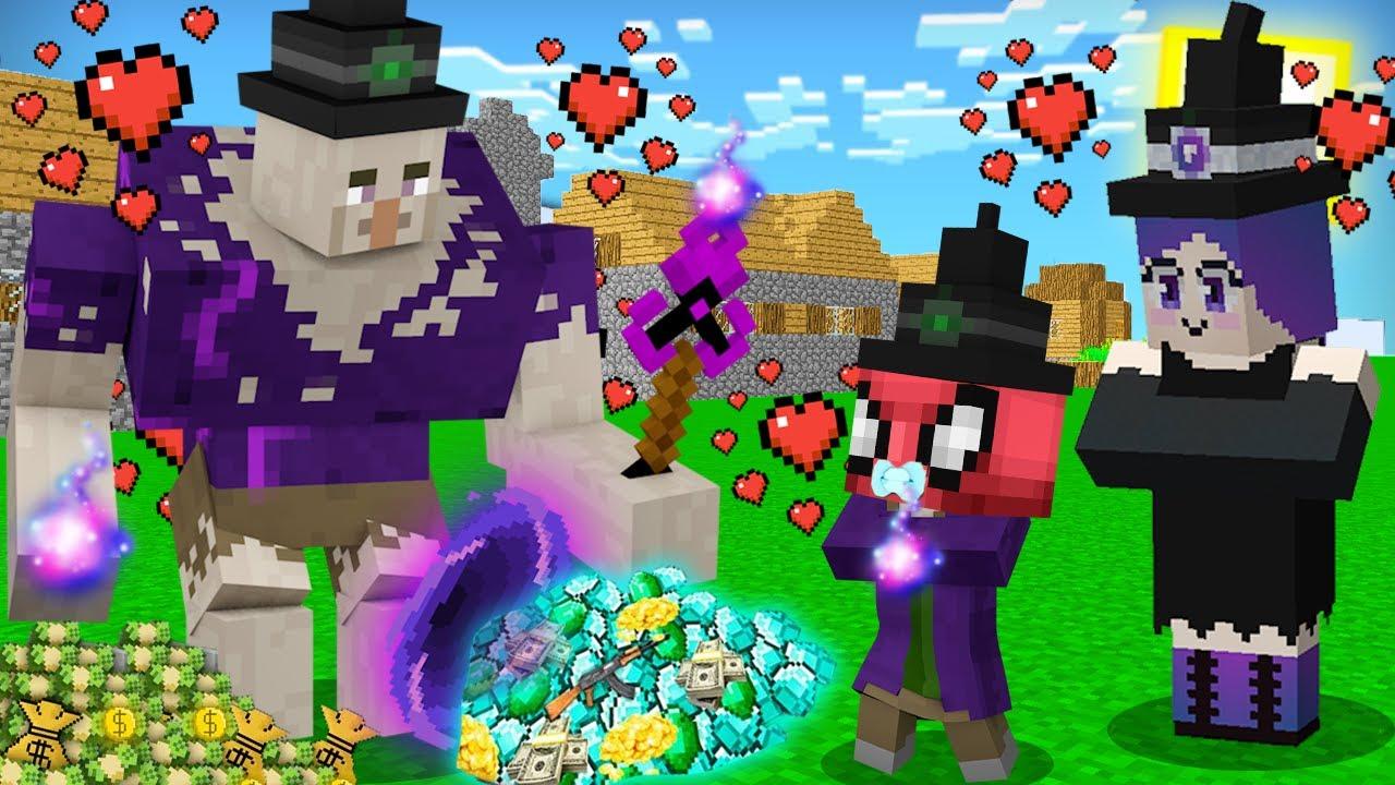 FAKİR MUTANT CADI BEBEĞİ OLDU! 👶🧙♀️ - Minecraft