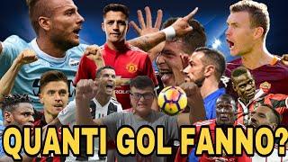 Quanti Gol Faranno I Bomber Della Serie A 2019 20?