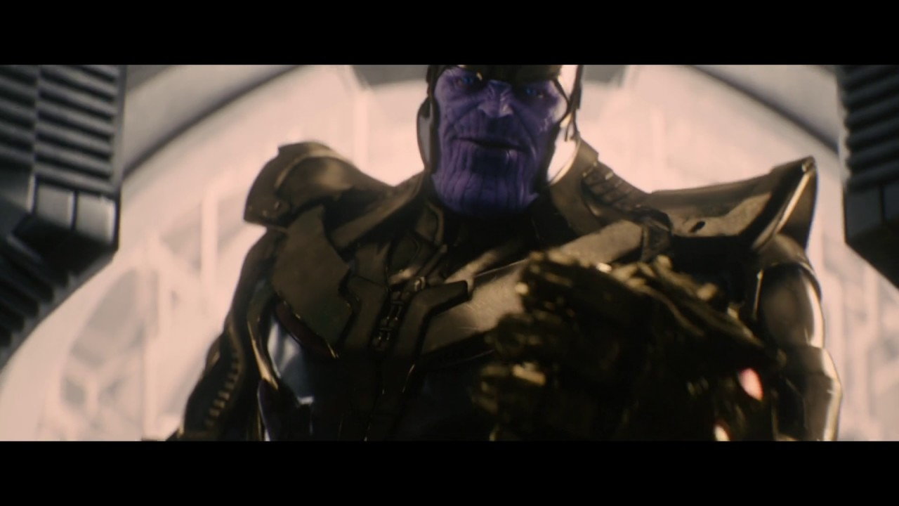 Thanos Ending Credits Scene Of Age Of Ultron 2015 1080p Fine I
