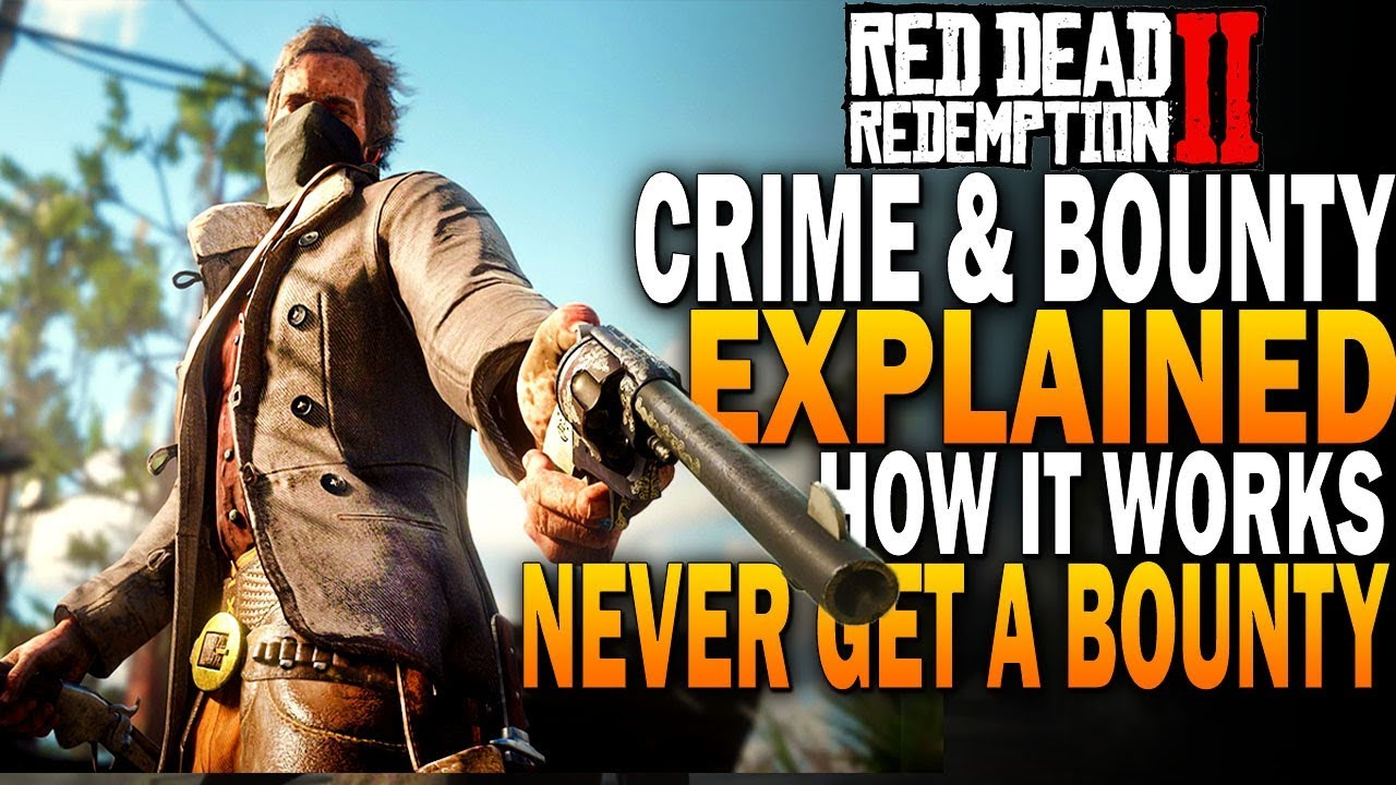 How to never get a bounty in Red Dead Redemption 2 - Wanted